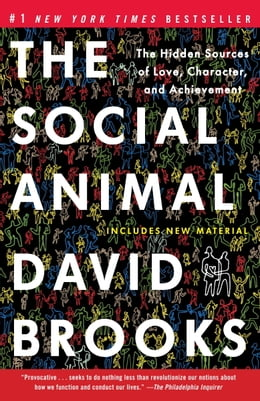 Book The Social Animal: The Hidden Sources of Love, Character, and Achievement by David Brooks