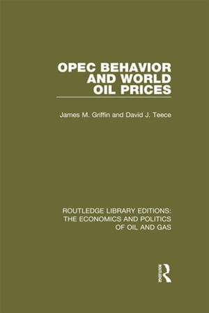 OPEC Behaviour and World Oil Prices