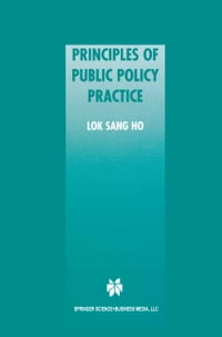 Principles of Public Policy Practice