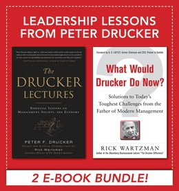 Book Leadership Lessons from Peter Drucker by Peter F. Drucker