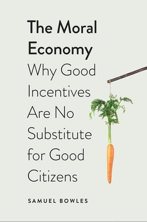 The Moral Economy Why Good Incentives Are No Substitute for Good Citizens