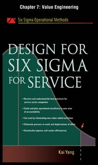 Design for Six Sigma for Service, Chapter 7 - Value Engineering