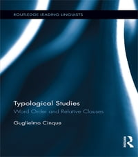 Typological Studies: Word Order and Relative Clauses