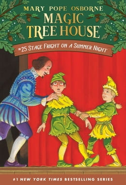 Book Stage Fright on a Summer Night by Mary Pope Osborne