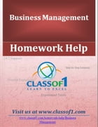 Competitive Analysis by Homework Help Classof1