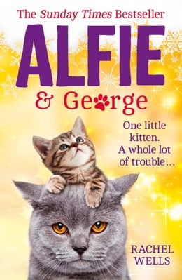 Book Alfie and George: A Christmas tale about how one cat and his kitten brought a street together by Rachel Wells