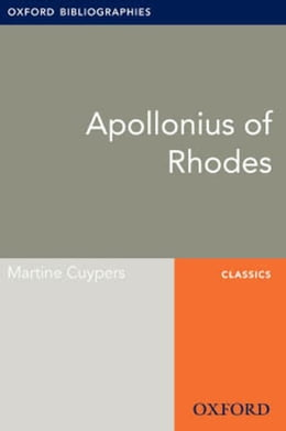 Book Apollonius of Rhodes: Oxford Bibliographies Online Research Guide by Martine Cuypers