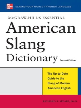 Book McGraw-Hill's Essential American Slang by Spears, Richard