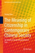 9789811063237 - Sicong Chen: The Meaning of Citizenship in Contemporary Chinese Society - Book