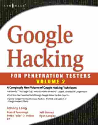 Google Hacking for Penetration Testers
