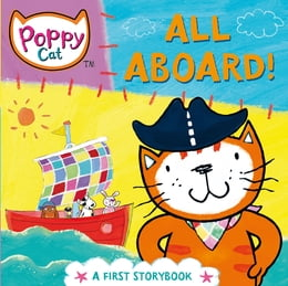 Book Poppy Cat TV: All Aboard! by Lara Jones