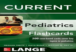 Book Lange CURRENT Pediatrics Flashcards by Maya Bunik