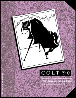Book COLT Proceedings 1990 by COLT