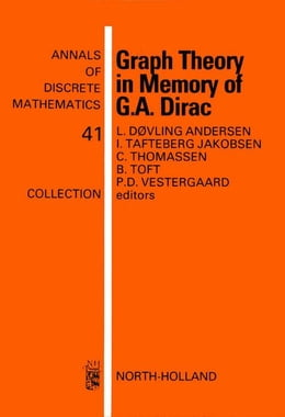 Book Graph Theory in Memory of G.A. Dirac by Døvling Andersen, L.