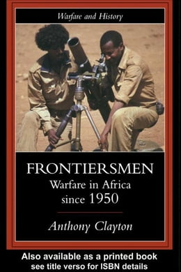 Book Frontiersmen by Clayton, Anthony