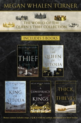 Book World of the Queen's Thief Collection: The Thief, The Queen of Attolia, The King of Attolia, A… by Megan Whalen Turner