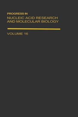 Book Progress in Nucleic Acid Research and Molecular Biology by Cohn, Waldo E.