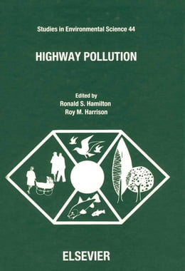 Book Highway Pollution by Hamilton, R.S.