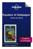 Equateur et Galapagos 4 - Sierra du Nord by Lonely Planet