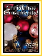 Just Christmas Tree Ornament Photos! Big Book of Photographs & Pictures of Holiday Ornaments, Vol. 1 by Big Book of Photos