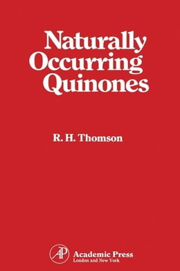 Book Naturally Occurring Quinones by Thomson, R