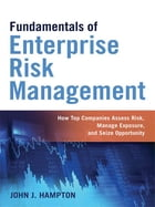 Fundamentals of Enterprise Risk Management: How Top Companies Assess Risk, Manage Exposure, and Seize Opportunity by John Hampton