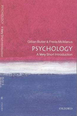 Book Psychology: A Very Short Introduction by Gillian Butler