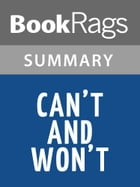 Can't and Won't by Lydia Davis Summary & Study Guide by BookRags