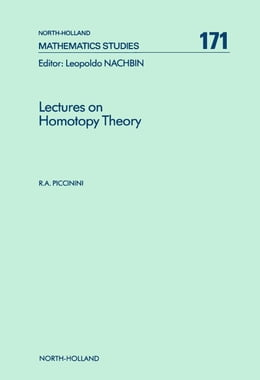 Book Lectures on Homotopy Theory by Piccinini, R.A.