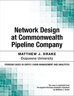 Book Network Design at Commonwealth Pipeline Company by Matthew J. Drake