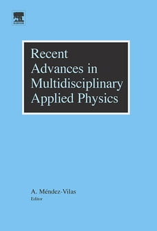 Recent Advances in Multidisciplinary Applied Physics: Proceedings of the First International…