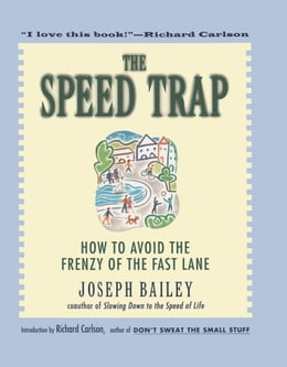 Book The Speed Trap: How to Avoid the Frenzy of the Fast Lane by Joseph Bailey