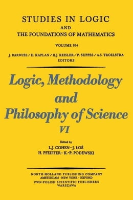 Book Logic, Methodology and Philosophy of Science VI by Cohen, J.J.