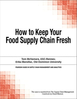 Book How to Keep Your Food Supply Chain Fresh by Chuck Munson