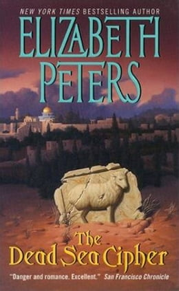 Book The Dead Sea Cipher by Elizabeth Peters