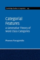 Categorial Features
