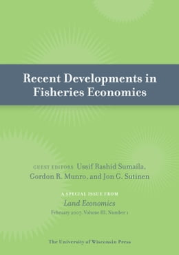 Book Recent Developments in Fisheries Economics by Sumaila, Ussif