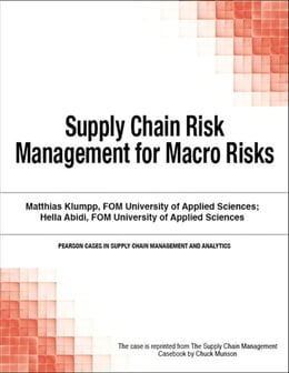 Book Supply Chain Risk Management for Macro Risks by Chuck Munson