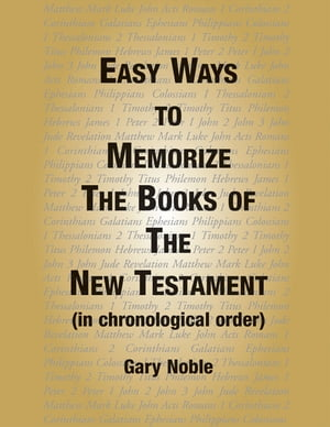 Easy Ways to Memorize the Book of the New Testament