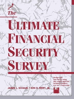 Book The Ultimate Financial Security Survey by Schaub, James L