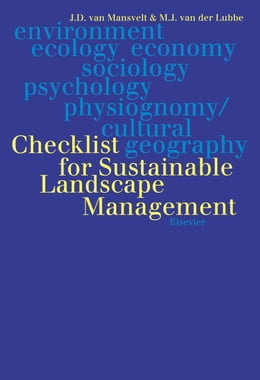 Book Checklist for Sustainable Landscape Management: Final Report of the EU Concerted Action AIR3-CT93… by van Mansvelt, J.D.