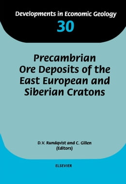 Book Precambrian Ore Deposits of the East European and Siberian Cratons by Gillen, C.
