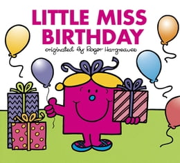 Book Little Miss Birthday by Roger Hargreaves