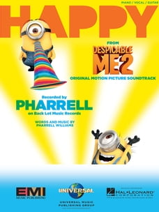 "Happy (from ""Despicable Me 2"") Sheet Music"