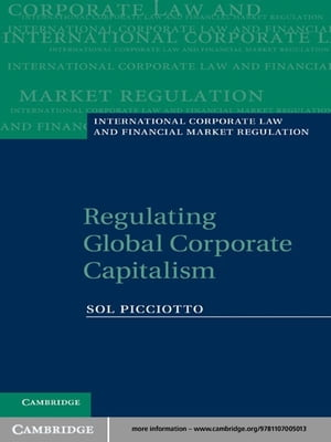Regulating Global Corporate Capitalism