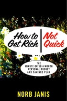 How to Get Rich - Not Quick: The Minute or so a Month Personal Budget and Savings Plan by Norb Janis