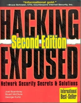 Book Hacking Exposed by Scambray, Joel
