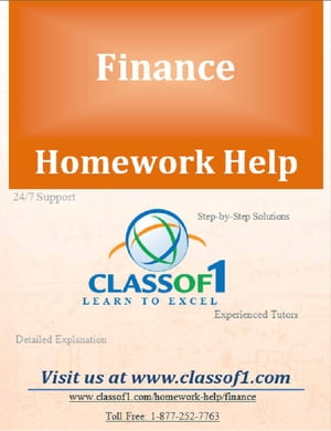 Calculation of Issue of Debt and Return on Equity by Homework Help Classof1