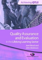 Quality Assurance and Evaluation in the Lifelong Learning Sector