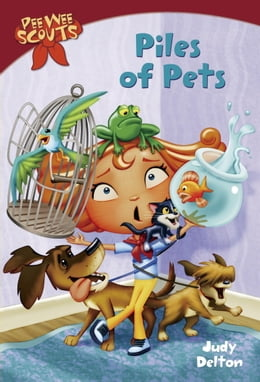Book Pee Wee Scouts: Piles of Pets by Judy Delton